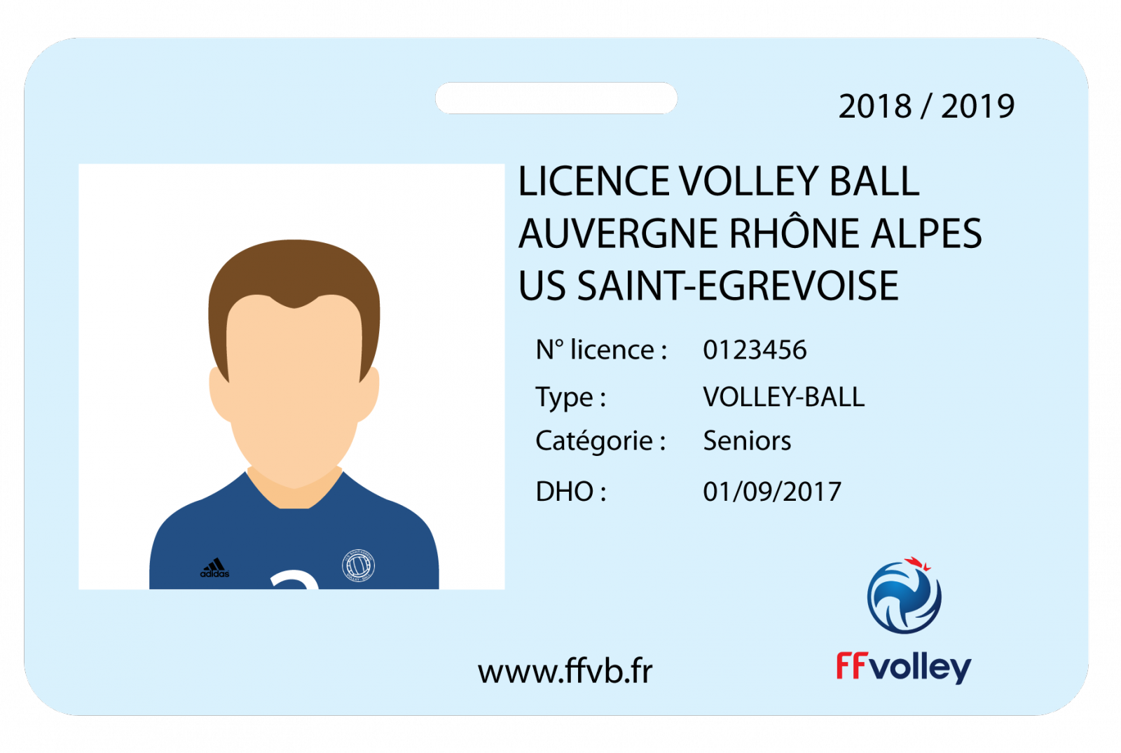 Documents de licence 2018 / 2019