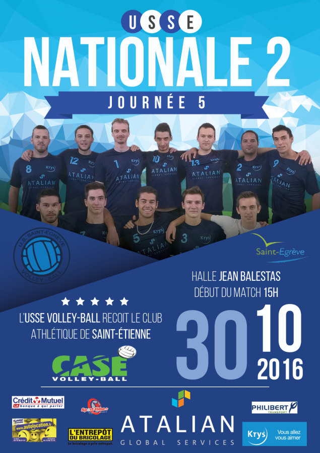 Nationale 2 - USSE / CASE