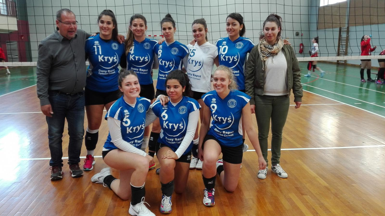 M20 Féminins - US Saint-Egrève Volley-Ball
