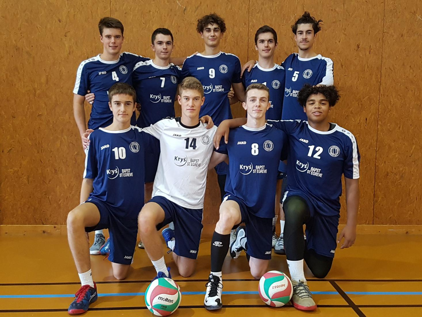 M20 Masculins - US Saint-Egrève Volley-Ball